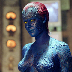 Mystique in Stryker's base.