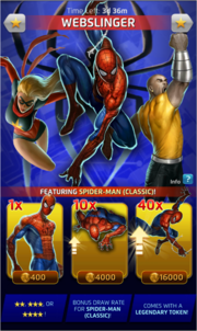 Webslinger (Season XX) Offer