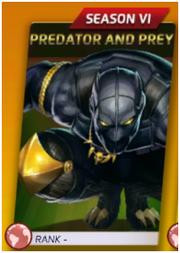 Predator And Prey (Season VI)