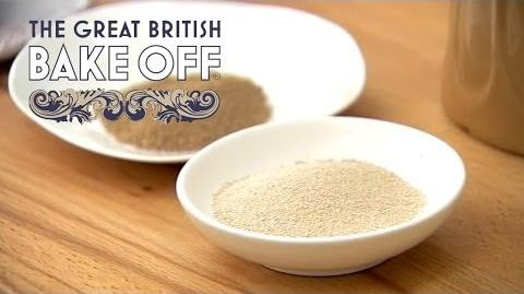 Making The Dough For Focaccia Bread - The Great British Bake Off