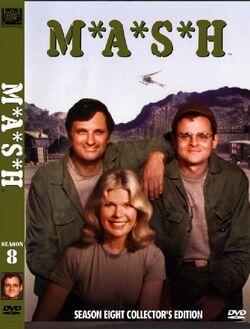 MASH Season 8 DVD cover