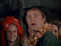 George Brown as Mulcahy-pilot