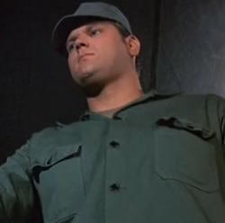 Sgt. Flacker in Requiem for a Lightweight - MASH