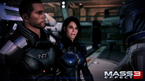 ME3 Ashley Spectre Armor