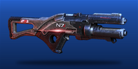 ME3 N7 Valkyrie Assault Rifle