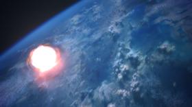 Virmire-The nuke explodes