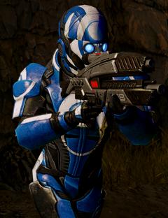 Blue Suns Trooper