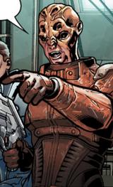 Anto en Mass Effect: Invasión