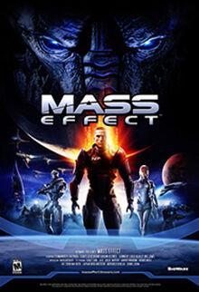 Alkuperäinen Mass Effect -kansi