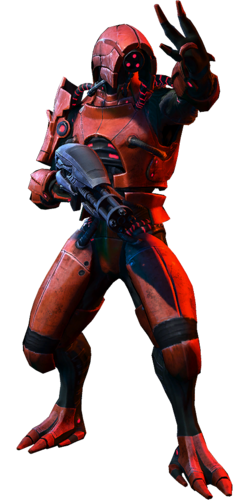 ME3 Geth Juggernaut Soldier