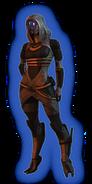 ME2 Tali Loyal Outfit