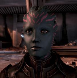 ME3 Lieutenant Kurin
