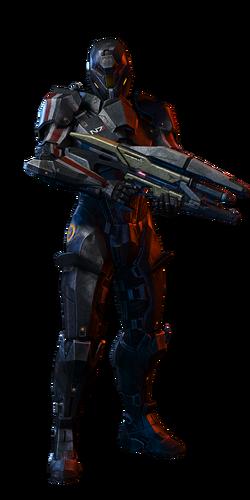 N7 Destroyer Soldier MP