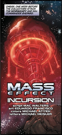 Mass Effect Incursion title