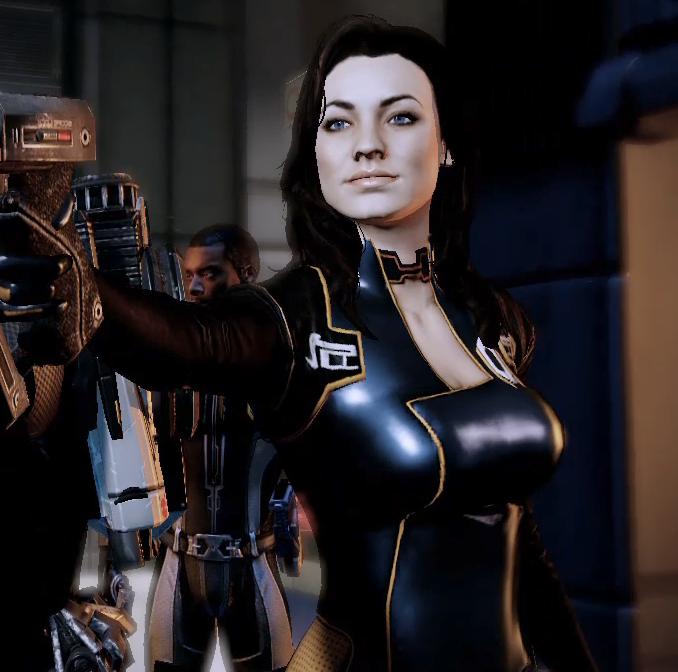 Mass Effect Miranda Romance