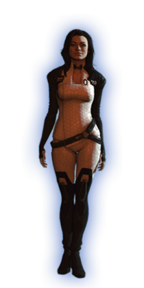 ME2 Miranda Basic Outfit
