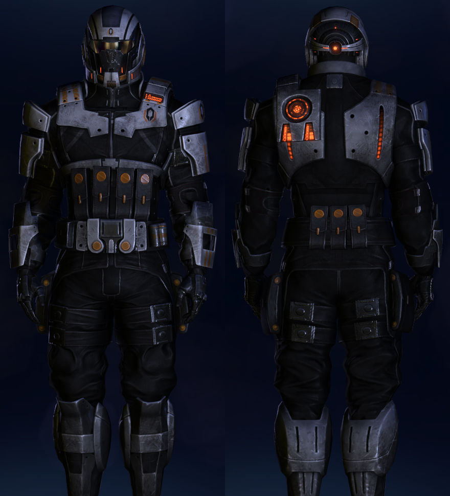 No Spoilers ]Always wanted to see Cerberus style N7 Armour, now I ...