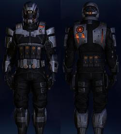 ME3 Cerberus Ajax Armor