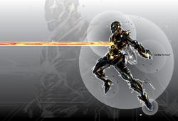 Rezzed Iron Man