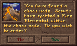Encounter ChaosNode Dialog