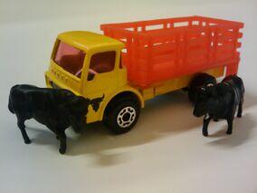 Auf Dem Land Vieh Transporter