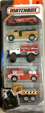 Fire Squad 2016-5-Pack
