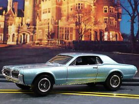 1968 Mercury Cougar Light Blue