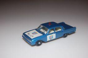 55b ford fairlane police car