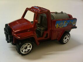 Kids Cars of the Year All-Terrain Fire Tanker