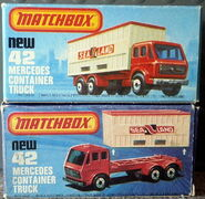 Mercedes Container Truck (Box)