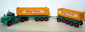 Dodge Tractor with Twin Tippers (K16)
