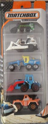 Matchbox 2014 5 pack Constuction zone