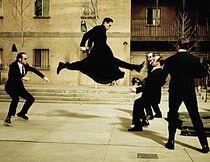 The Matrix Reloaded Burly Brawl