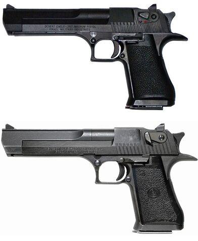 File:Desert Eagle Mark I and VII.jpg