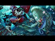 Aquaman Superman Jim Lee