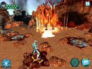 Fire elementor boss battle