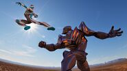 Maxsteel vs Dredd 1