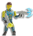 Green and Teal Max Steel