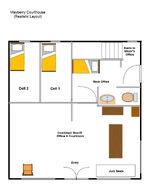 Alternate courthouse layout