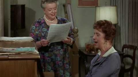 """Clara and Aunt Bee sing """"My Hometown"""""""