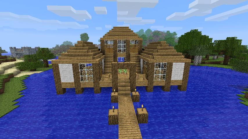 Waterhouse minecraft constuctions wiki fandom powered for Minecraft base blueprints