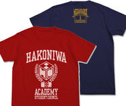 Hakoniwa Academy Student Council Executive T-Shirt