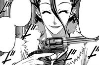 Kairai draws his revolver