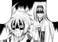 Ajimu tells Tsurubami that Medaka killed his father
