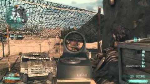 Medal of Honor 2010 M240 and RPK PC Gameplay
