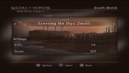 Crossing the Styx Menu Screen