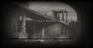 Stage Fright Loading Screen