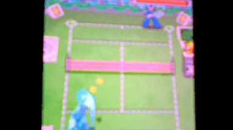 携帯アプリ ロックマンテニス - ロックマン VS