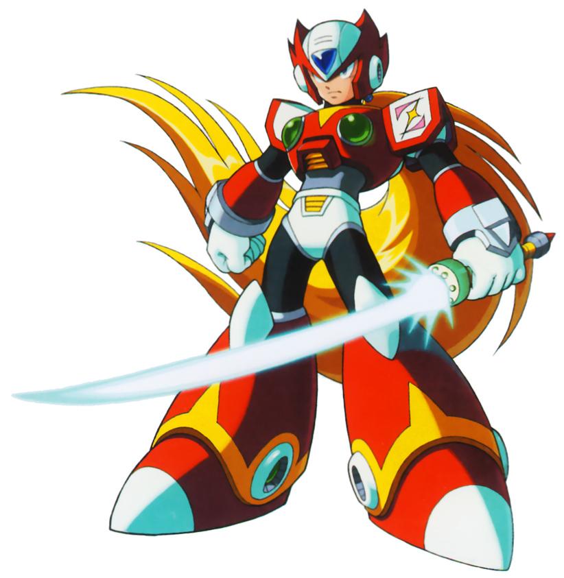 Zero Megaman X4 Image - Xt1 zerostand....