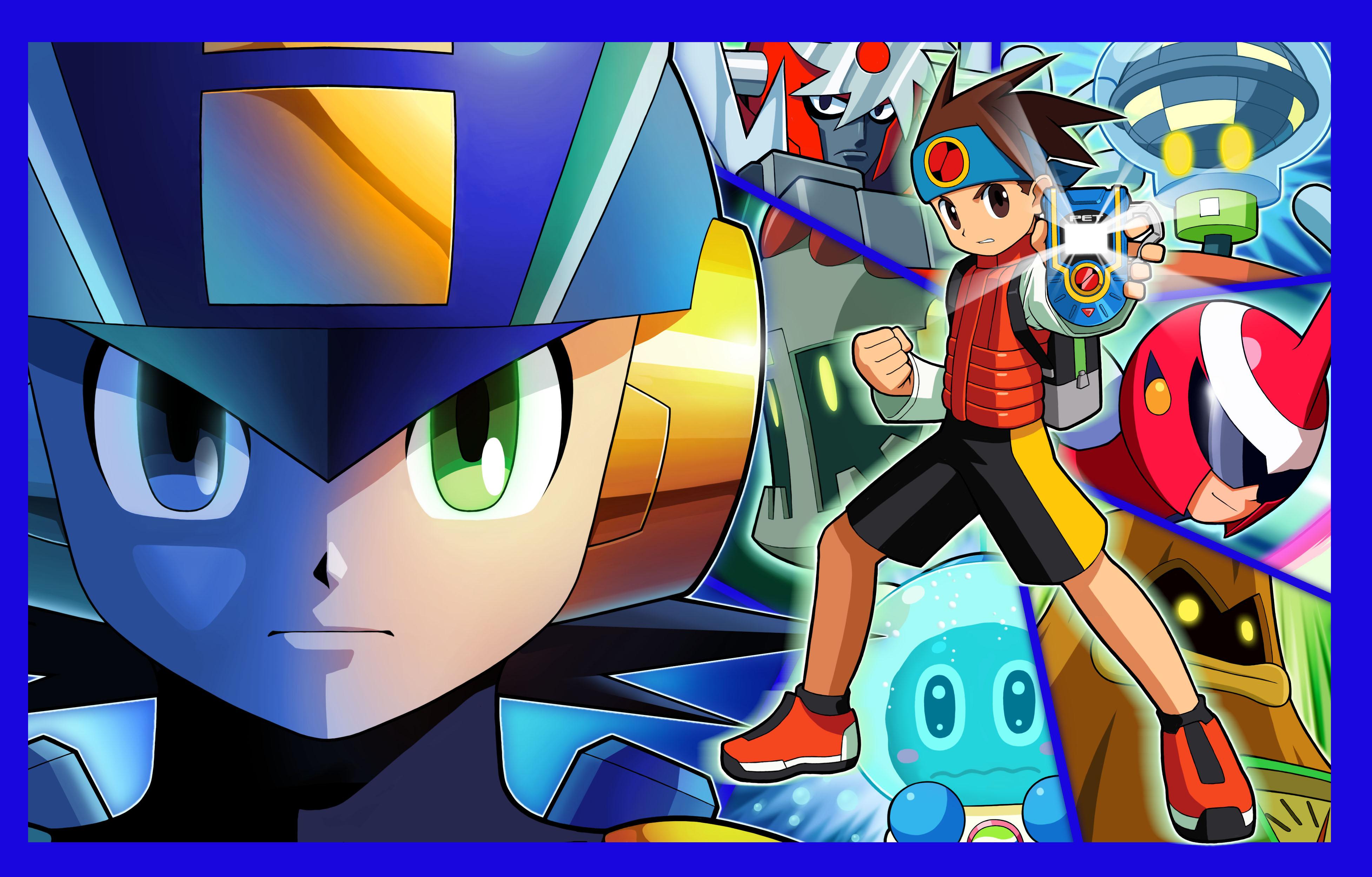 Megaman Battle Network Bass